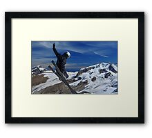 Freerider Framed Print