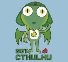 Sergeant Cthulhu (English version) Kids Clothes