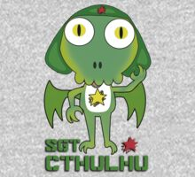 Sergeant Cthulhu (English version) One Piece - Long Sleeve
