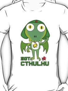 Sergeant Cthulhu (English version) T-Shirt