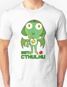 Sergeant Cthulhu (English version) Unisex T-Shirt