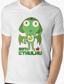 Sergeant Cthulhu (English version) Mens V-Neck T-Shirt