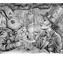 a mad tea party Photographic Print