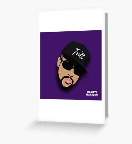 PIMP C Greeting Card