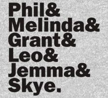 We are Agents of S.H.I.E.L.D. by estelofimladris