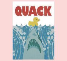 Quack Duck Parody Kids Tee