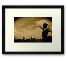 Kristi Wade Aerialist Framed Print