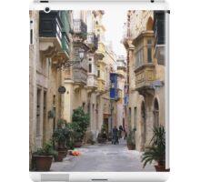 Streets of Birgu iPad Case/Skin