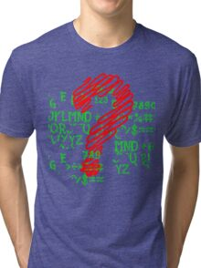 Why? Tri-blend T-Shirt
