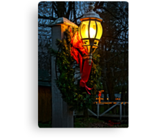 """""""It's Begining To Look A Lot Like Christmas"""" Canvas Print"""