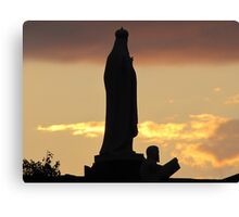 Jesus and Mary Canvas Print