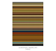 O Brother Where Art Thou - Movie Poster - The Colors Of Motion Photographic Print