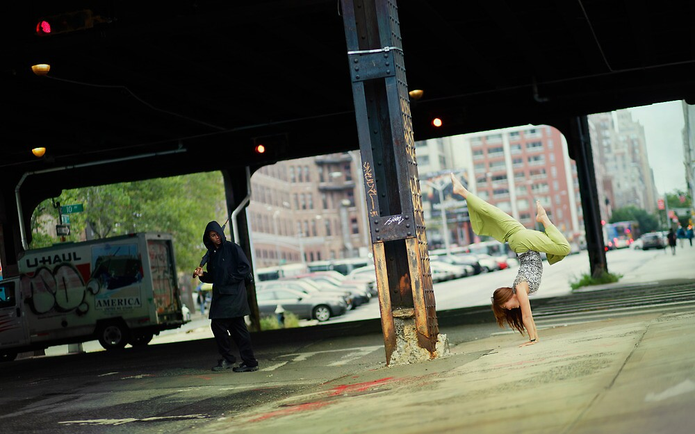 Yoga in New York by Wari Om  Yoga Photography