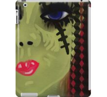 Zombie girl iPad Case/Skin