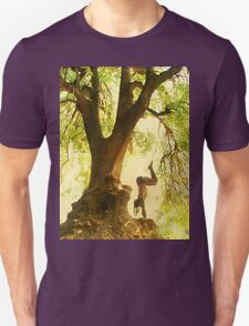 Handstand by the tree tshirt Unisex T-Shirt