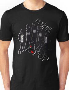 I love KPOP in Korean langauge Unisex T-Shirt