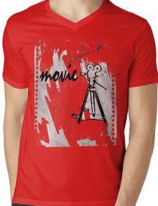 movie film Mens V-Neck T-Shirt