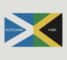Scotland Yard jamaica flag kingston funny parody by Andis-Store