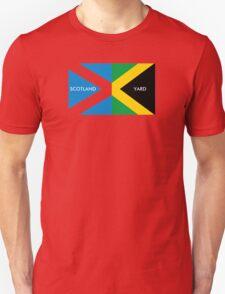 Scotland Yard jamaica flag kingston funny parody T-Shirt