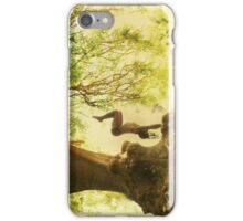 Handstand by the tree tshirt iPhone Case/Skin