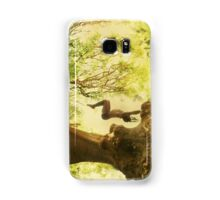 Handstand by the tree tshirt Samsung Galaxy Case/Skin