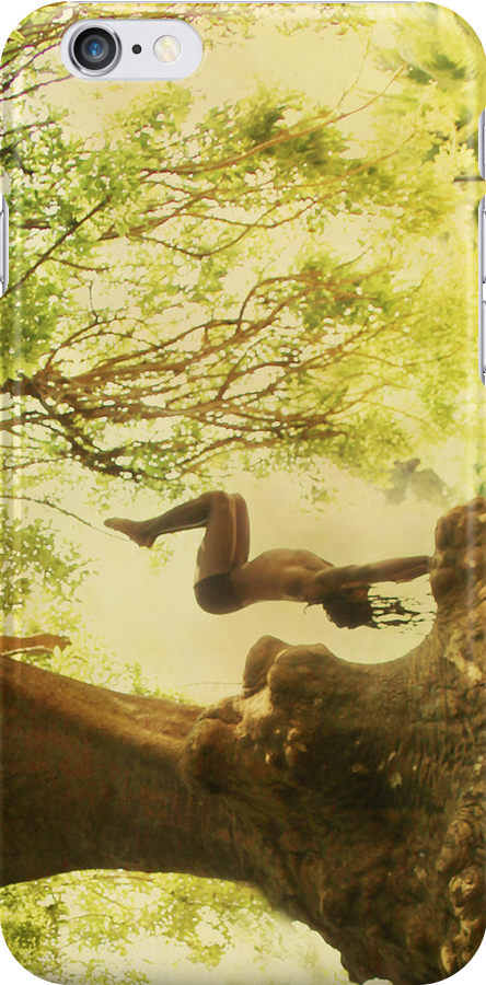 Handstand by the tree tshirt by Wari Om  Yoga Photography