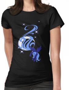 Moon Shade Womens Fitted T-Shirt