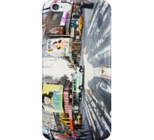 Yoga in Times Square, New York iPhone Case/Skin