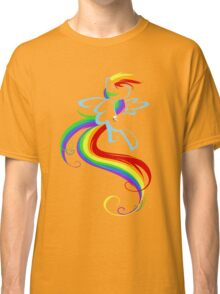 Flowing Rainbow Classic T-Shirt