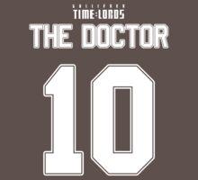 Team Tennant (The Doctor Team Jersey #10) One Piece - Short Sleeve