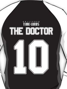 Team Tennant (The Doctor Team Jersey #10) T-Shirt
