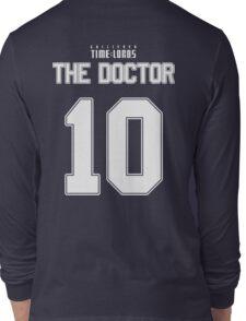 Team Tennant (The Doctor Team Jersey #10) Long Sleeve T-Shirt