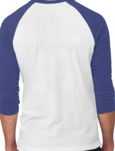 Team Tennant (The Doctor Team Jersey #10) Men's Baseball ¾ T-Shirt