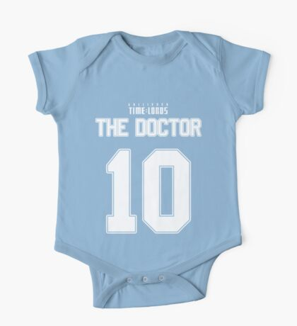 Team Tennant (The Doctor Team Jersey #10) One Piece - Short Sleeve