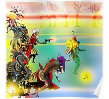 Laser Battle! Poster