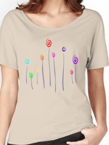 Colorful flower Women's Relaxed Fit T-Shirt