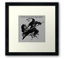 Artorias of the Abyss Framed Print
