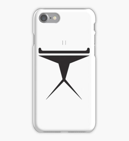 Minimalist Clone Trooper iPhone Case/Skin