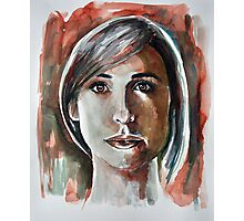 Watchtower (Allison Mack) Photographic Print