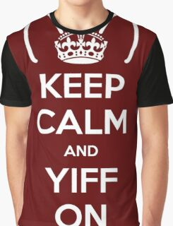 Keep Calm and Yiff On Graphic T-Shirt