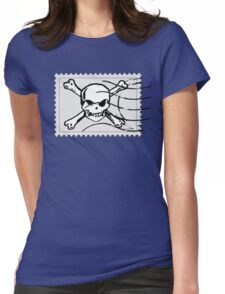 postage stamp Womens Fitted T-Shirt