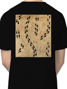 Marauders Map Footprints Classic T-Shirt
