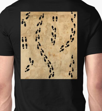 Marauders Map Footprints Unisex T-Shirt