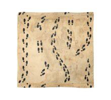 Marauders Map Footprints Scarf