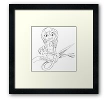 PENCIL ART - How To F*%^ A Man… Without Giving A F*%^ About What Anyone Thinks  Framed Print