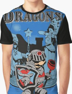 PIPES & DRAGONS Graphic T-Shirt