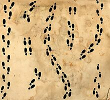 Marauders Map Footprints by Serdd