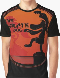 The Karate Dog  Graphic T-Shirt