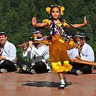 Uzbeki dancing girl by neil harrison