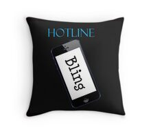 Hotline Bling Swag Throw Pillow